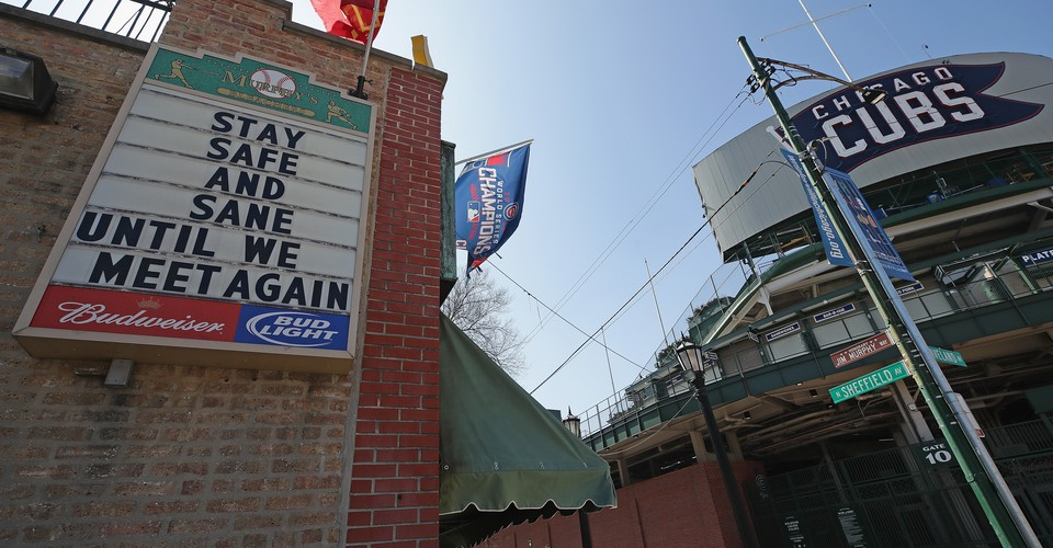 The Empty Baseball Stadiums of Opening Day