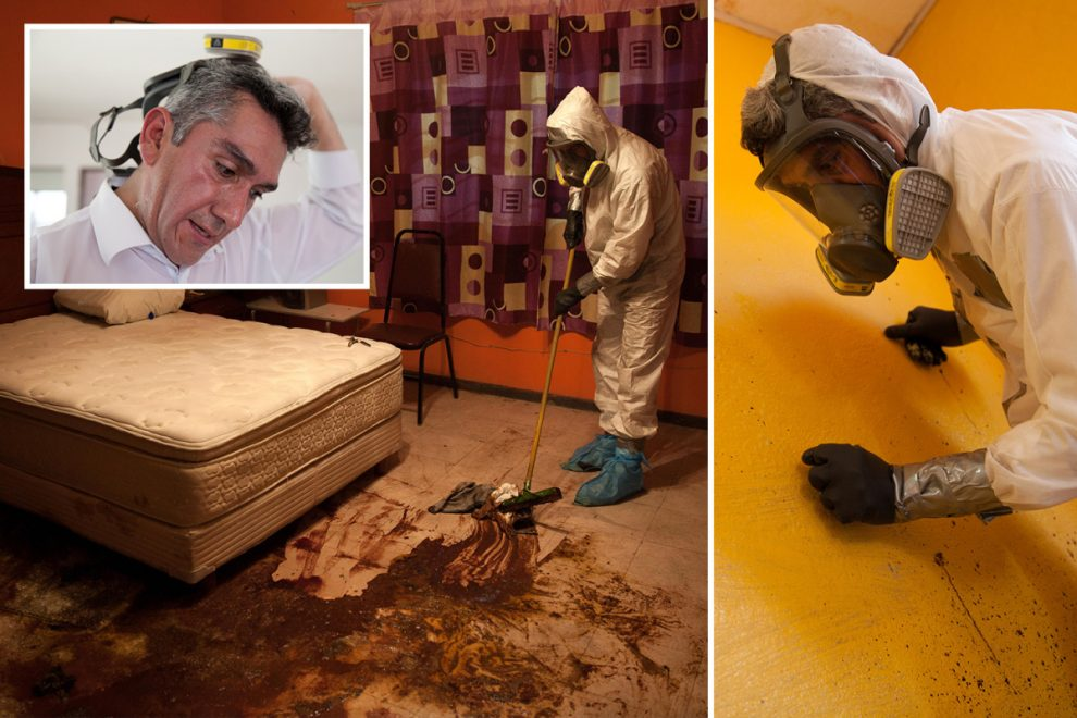 From murdered kids to rotting gangsters… Mexico's first ever crime-scene cleaner reveals gruesome reality of his work