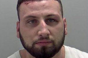 Fugitive Brit 'drug dealer', 28, arrested after Costa del Sol bar knife fight left victim with 'guts hanging out'