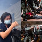 Hong Kong police fire tear gas and water cannons as protesters rage over China plans for strict new security laws