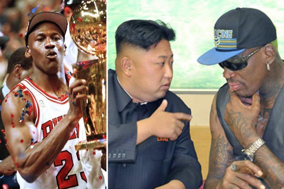 Kim Jong-un desperate for Michael Jordan to visit North Korea, Denis Rodman reveals on Mike Tyson's Hot Boxin' podcast
