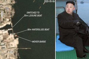 Kim Jong-un missing mystery deepens as ANOTHER pleasure boat docks at luxury Wonsan villa days after 'alive' footage