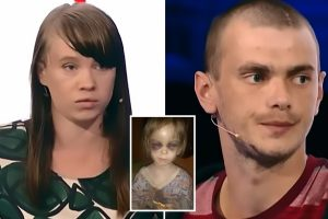 Parents accused of torturing daughter, 3, after going on Russia's answer to Jeremy Kyle to blame sibling for bruises