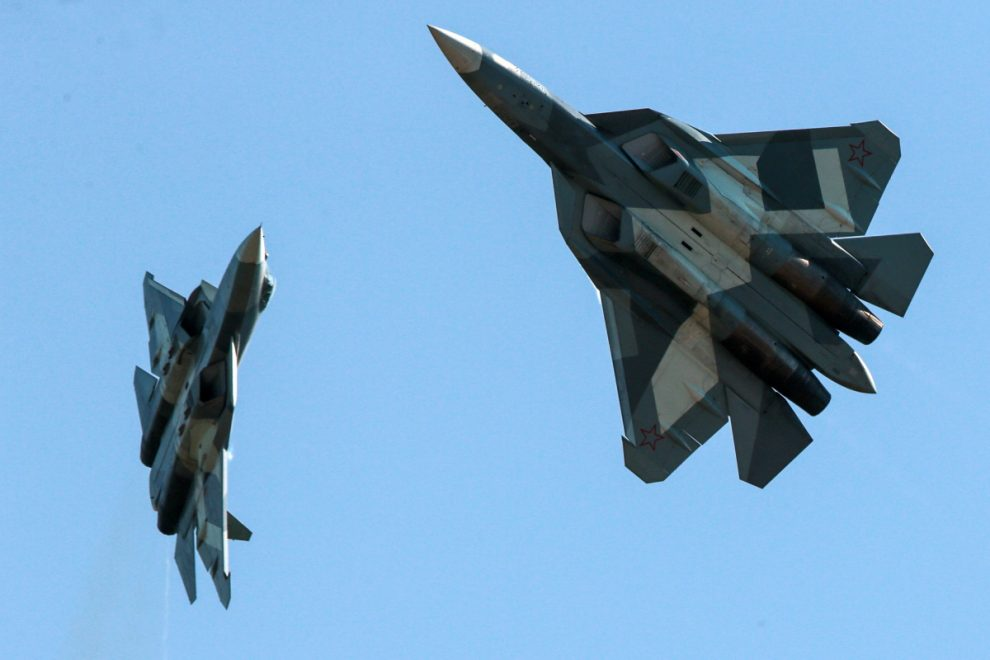 Russia's stealth fighter jets 'are being piloted by robots in secrets trials'