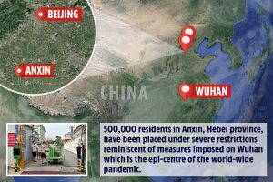 China puts half a million Hebei residents under Wuhan-style total lockdown after coronavirus spike linked to food market