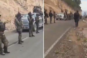 El Chapo's machine gun-wielding narco army replace cops in Mexico's lawless 'Golden Triangle'