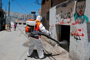 Holy city Bethlehem is shut down for 48 hours as surge in coronavirus infections hits Palestine's West Bank