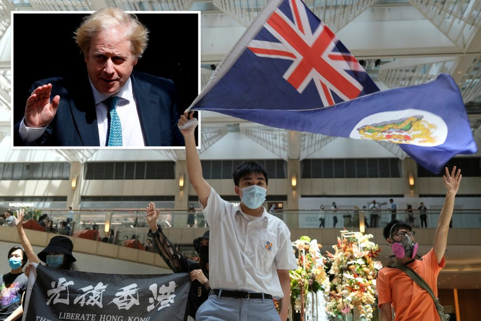 PM will offer refuge and citizenship to 3m from Hong Kong if China strips them of freedoms