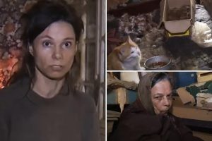 Russian mum 'forced her daughter to live off CAT FOOD while caged at her home for 26 years'
