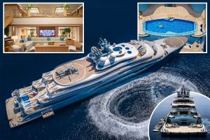 World's most expensive superyacht available for hire at a staggering £3million A WEEK – and it has its own hospital