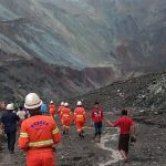 Myanmar landslide – 'At least 100 dead' and dozens trapped in jade mine disaster as bodies are pulled from mud