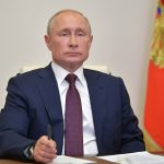 Vladimir Putin signs law allowing him to stay in power until 2036 as he changes Russia's constitution