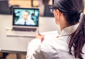Downloading an app for virtual care? No need. Choose Webex Telehealth Connector for Epic